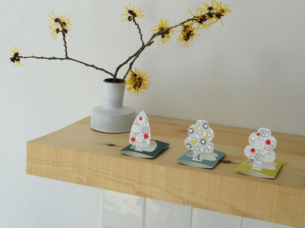 Jurianne Matter - Papierkartenset Little Tree