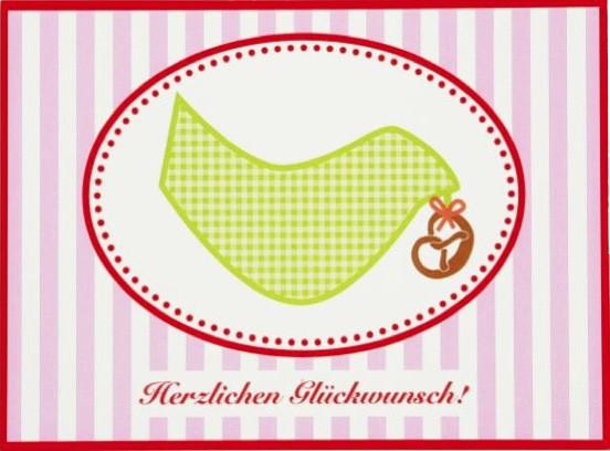 Postkarte Brezenvogel
