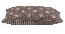 pad - Kissen Sterne beige