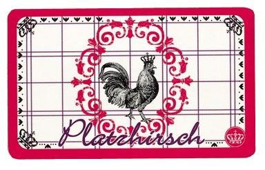 Frühstücksbrettchen Le coq rouge - Platzhirsch