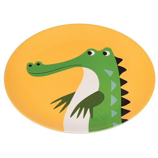 Melamin Teller Krokodil