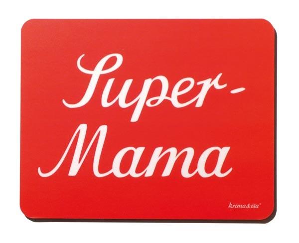 Krima & Isa - Mousepad Super Mama