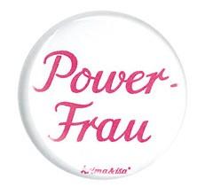 Krima & Isa - Button Powerfrau