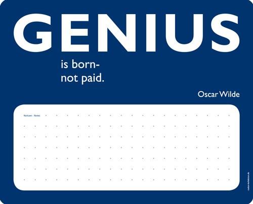 Cedon - Notiz Mousepad Genius