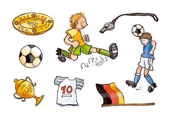 Grätz - Tattoos Fußball