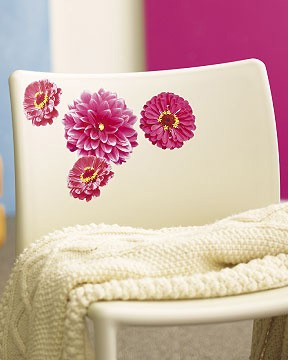 Wallies - Sticker Gerbera