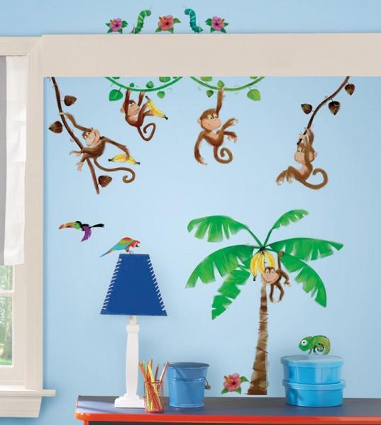 RoomMates Wandsticker - Affen