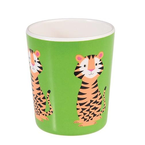 Melamin Becher Tiger
