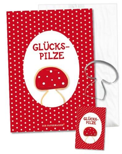Die Papermaker - Geschenkpackung Glückspilzkekse