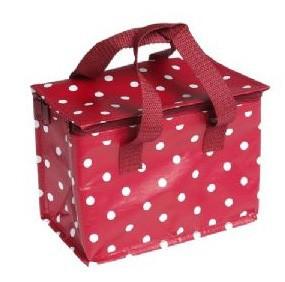 Lunchbag rot Punkte