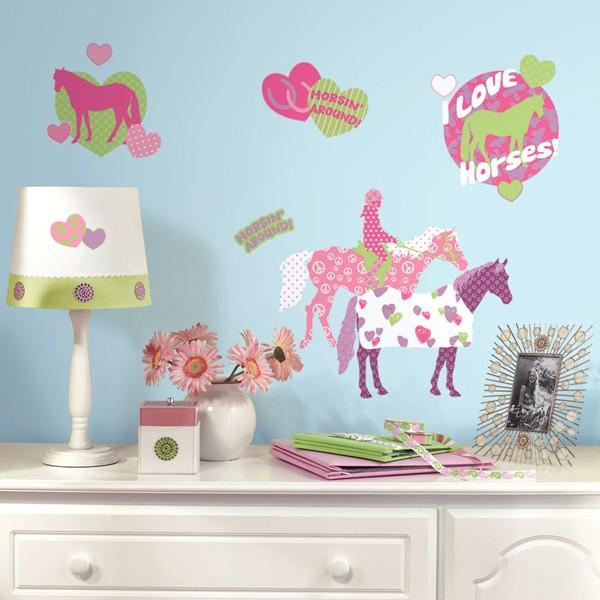 RoomMates Wandsticker - Pferde Crazy Horse