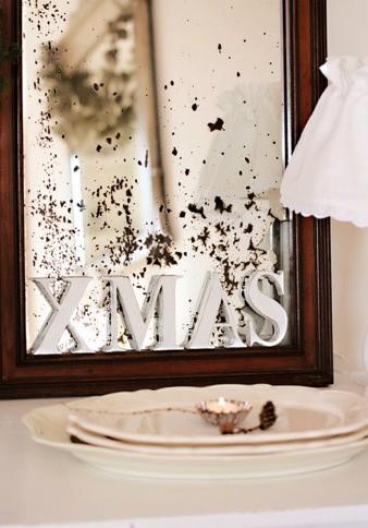 Buchstaben X-MAS