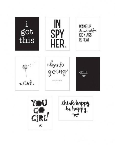 Little - Poster Set Inspiration für Poster Lichtbox