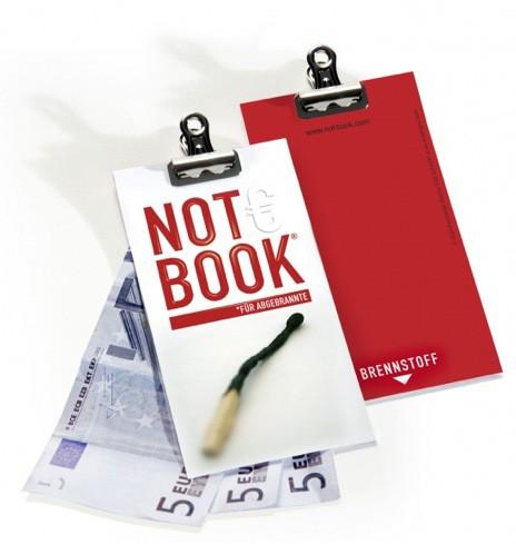 Die Papermaker - Notbook für Abgebrannte