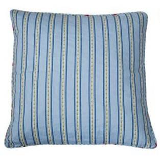 Falby - Kissenhülle blau Streifen